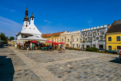 Austria lower austria gmünd. Austria, lower austria, gmünd.der town square of gmünd is worth seeing stock photos