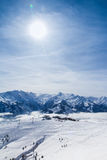 Austria mountain view royalty free stock photos