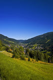 Austria Mountain Village Royalty Free Stock Photos
