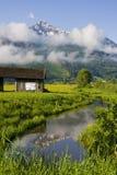 Austrian Alpine countryside Royalty Free Stock Photo
