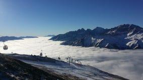 Austria narciarstwo Obrazy Stock