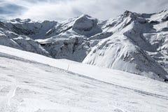 Austria narty bieg Zdjęcia Royalty Free