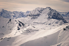 Austria narty skłony Obrazy Stock