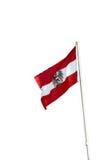 Austria national flag Royalty Free Stock Photo