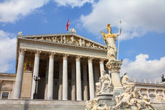 Austria - parliament Stock Photo