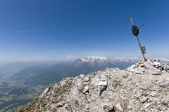 Austria peaks Royalty Free Stock Photography