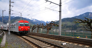 Austria by Rail - OBB Stock Photo