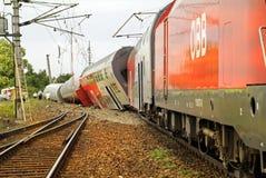 Austria_railway accident Royalty Free Stock Photography