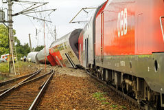 Austria_railwayongeval royalty-vrije stock fotografie