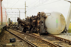 Austria_railwayongeval stock foto's