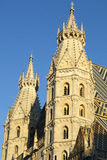 Austria`s Cathedral Spires Stock Image