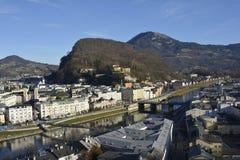 Austria_Salzburg stock afbeelding