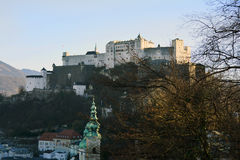 Austria_Salzburg Fotografia Stock Libera da Diritti