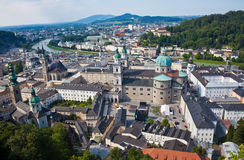 Austria, Salzburg, City View Royalty Free Stock Photo