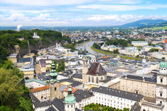 Austria, Salzburg, city view Royalty Free Stock Image
