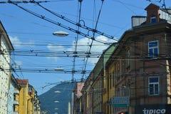 Austria, Salzburg, house in the mountain, Alps, architecture, installation, city, comfortable, tourism, Mozart stock photos