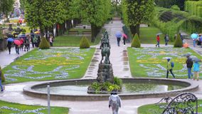 Mirabell Gardens, one of the most visited place of Salzburg