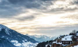 Austria Scenics in Winter Royalty Free Stock Images