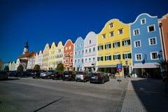 Austria, schaerding am inn Stock Photography