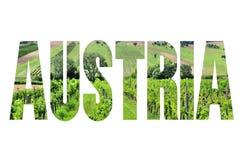 Austria sign Stock Photo