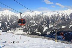 Austria ski station Stock Photo