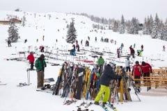 Austria skiing Stock Photography