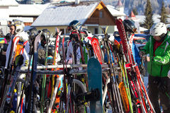 Austria skiing Stock Images