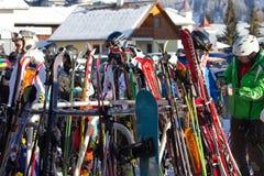 Austria skiing Stock Images