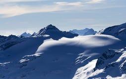 Austria - snowy mountains Royalty Free Stock Photo