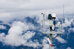 Austria Tauplitz weather station Royalty Free Stock Photography