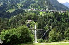 Austria, Tirol, bridge Stock Photos