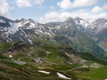 Austria - Tirol - Grossglockner Royalty Free Stock Photo