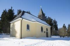 Austria, Tirol,  Sankt Johannes Nepomuk Kirche in Bayerischen Wald Royalty Free Stock Photography