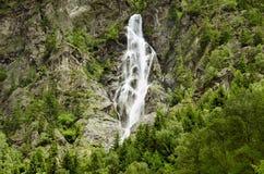 Austria, Tirol, waterfall Stock Image