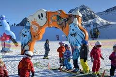 Austria, Tirol, Wintersport Royalty Free Stock Photography