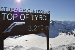 Austria, Tirol, Wintersport Stock Images