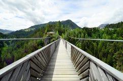 Austria, Tyrol, most Obrazy Royalty Free