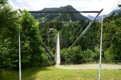 Austria, Tyrol, most Zdjęcie Stock