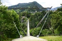 Austria, Tyrol, most Fotografia Royalty Free