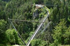 Austria, Tyrol, most Obraz Royalty Free
