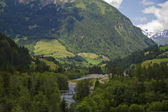 Austria valley Stock Image