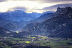 Austria: Valley Stock Image