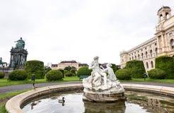 AUSTRIA, VIENA - 14 DE MAYO DE 2016: Opinión de la foto imágenes de archivo libres de regalías