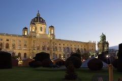 austria viena La historia del museo de arte Fotografía de archivo