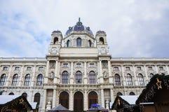 austria viena La historia del museo de arte Fotos de archivo