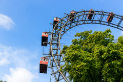 Austria, Viena, rueda de Ferris Imagenes de archivo