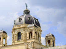 Austria, Viena, vista del museo de la historia natural Fotos de archivo