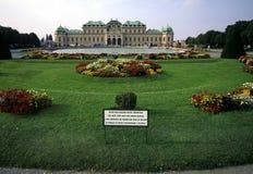 Austria / Vienna. Belvedere palace in Vienna, Austria Stock Photos