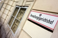Austria, vienna, administrative court Stock Photo