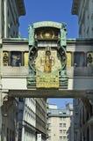 Austria, Vienna, Ankeruhr Stock Image